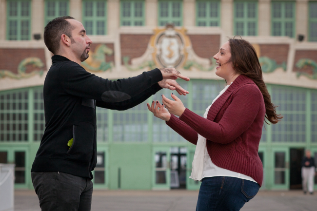 engagement photo Asbury Park NJ 10 Engagement Session in Asbury Park, NJ
