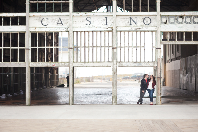 engagement photo Asbury Park NJ 12 Engagement Session in Asbury Park, NJ